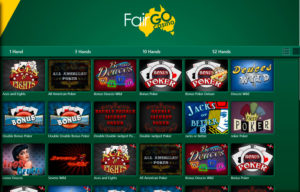 fair go video poker