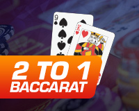 2 to 1 Baccarat Logo