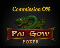 Commission Free Pai Gow Poker Logo