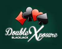 Double Exposure Blackjack Logo