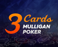 Three Card Mulligan Poker Logo