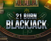 21 Burn Blackjack Logo