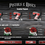 Roses & Pistols - Scatter Payout