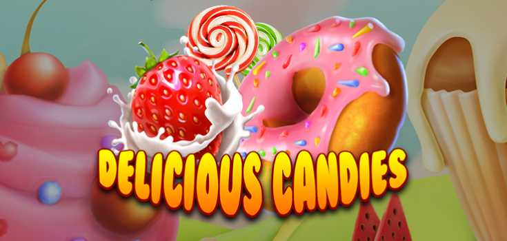 Delicious Candies New Slot Game