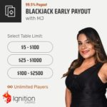 Ignition Casino Early Payout Blackjack