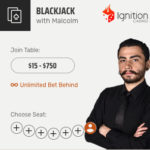 Ignition Casino Live Dealer Blackjack