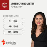 Ignition Casino Live Dealer Roulette