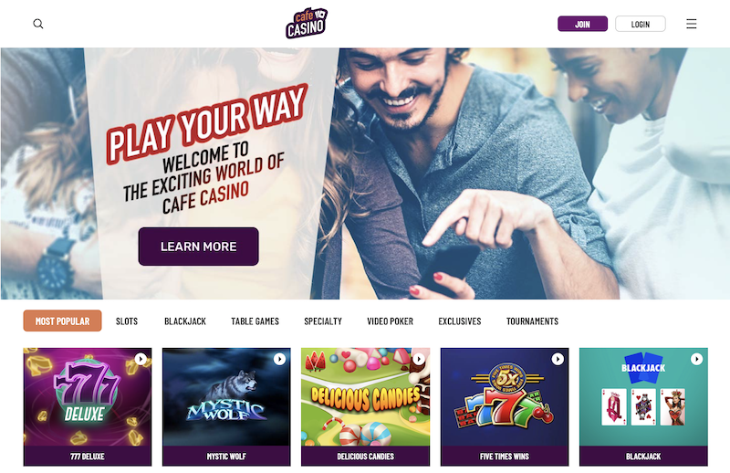 Cafe Casino Casino Instant Download