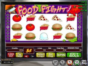 food fight slot game
