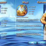 Rise of Poseidon Jackpot and Wilds