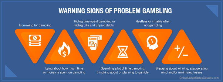 OUSC - Warning Signs of Problem Gambling