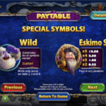 Yak Yeti and Roll Special Symbols