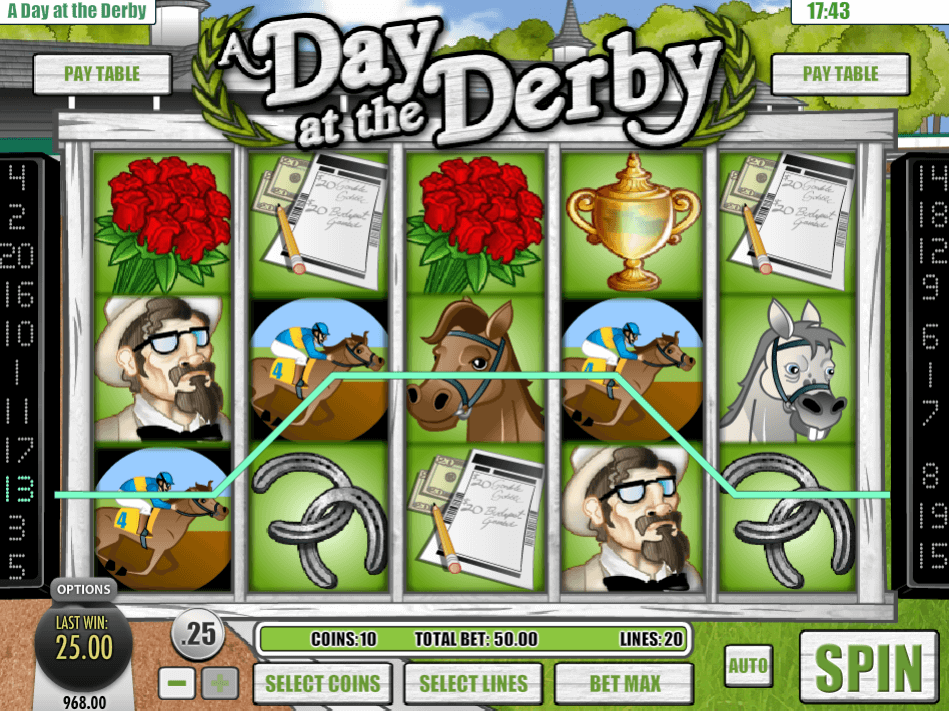 Spiele A Day At The Derby - Video Slots Online