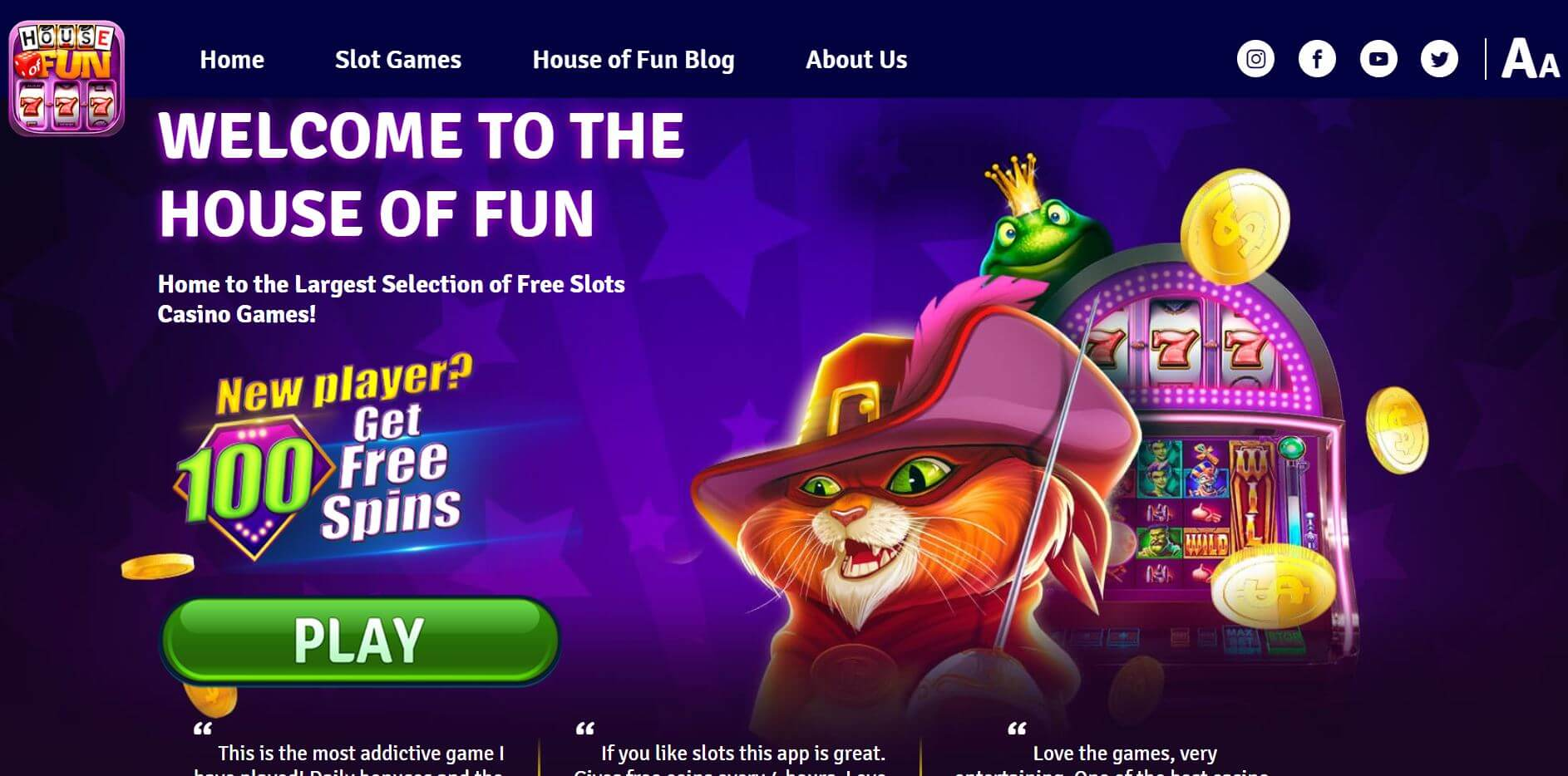 Have Fun And Play For Free At These Top Social Casinos