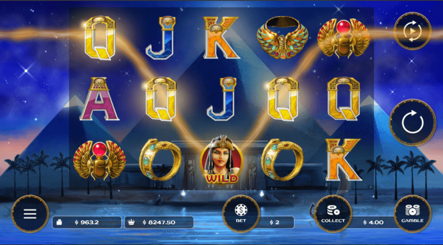 Look at A Night With Cleo Slot Game