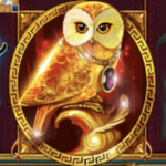 The Golden Owl of Athena - Wild & Scatter Symbol