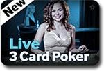 Betway Casino Live 3 Card Poker