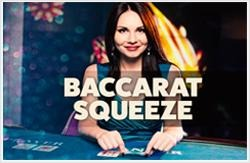 Live Baccarat Squeeze Logo