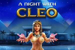 A Night With Cleo Slot Logo