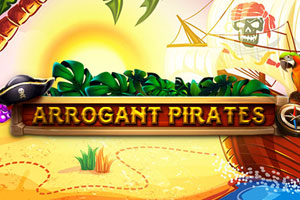 Arrogant Pirates Slot Logo