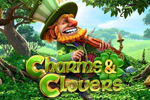 Charms and Clovers Slot Logo
