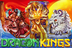 Dragon Kings Slot Logo