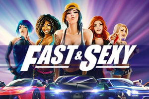 Fast and Sexy Slot Game Logo