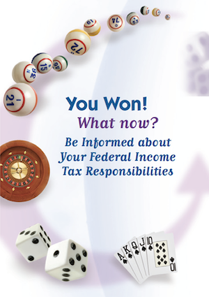 Gambling Winnings Taxes – IRS PDF p4706