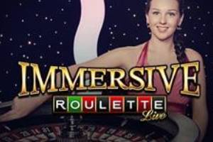 Live Dealer Immersive Roulette Online Game Logo