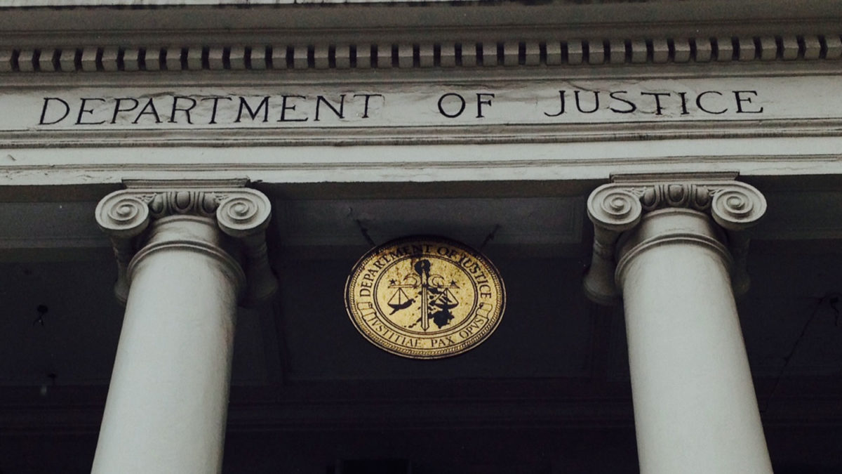 Department of Justice and Wire Act