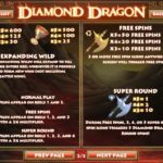 Diamond Dragon Free Spins and Expanding Wild