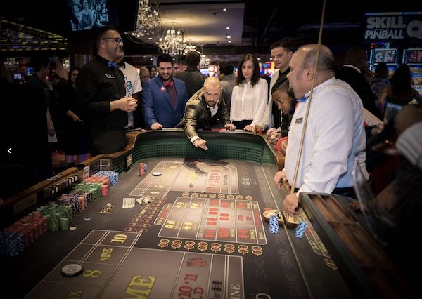 Downtown Grand Casino Craps Table