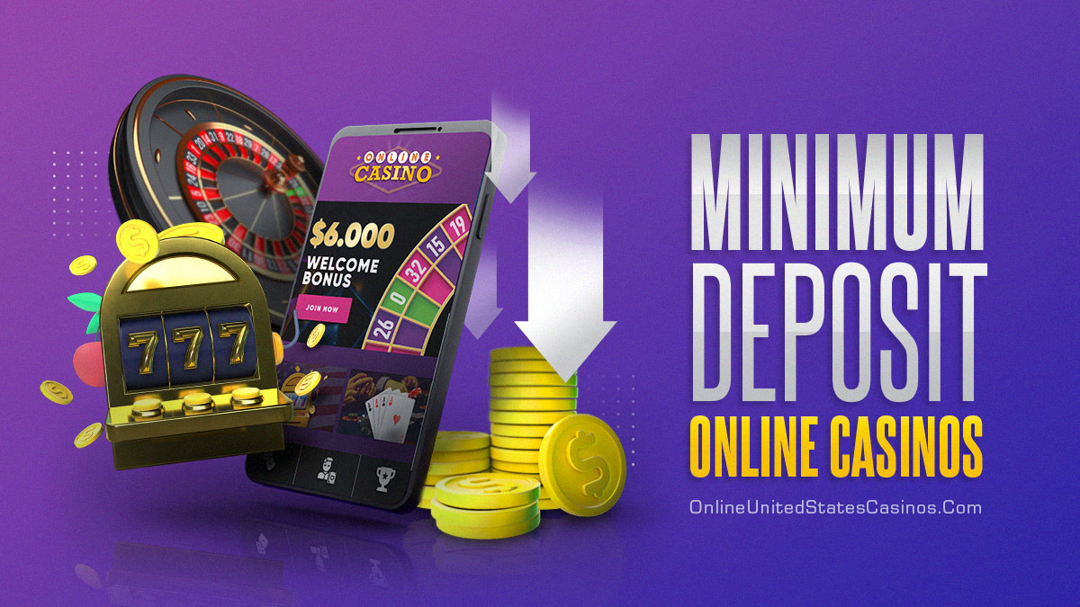 Minimum Deposit Real Money Online Casinos With Roulette Mobile Phone Slots and Coins