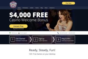 All Star Slot Online Casino Home Page