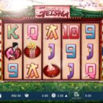 Secrets of a Geisha Online Slot Game Board
