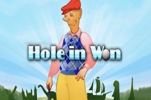 Hole in Won Slot Game Logo