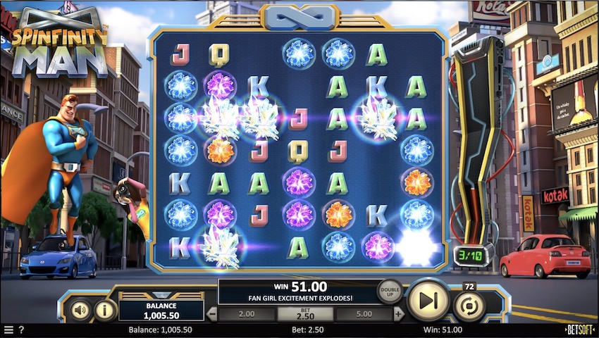 Spiele Spinfinity Man - Video Slots Online