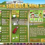 The Back Nine Payouts