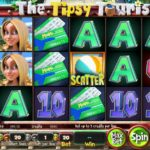 The Tipsy Tourist Online Slot Game Board