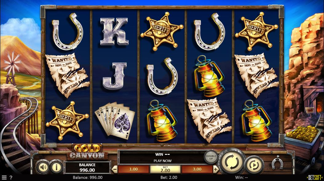 Gold Canyon Online Slot Look