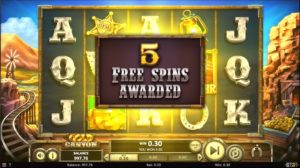 Gold Canyon Slots Free Spins