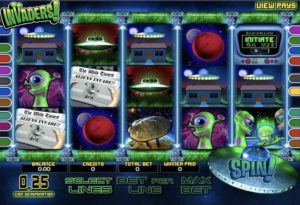 Invaders Slot Game
