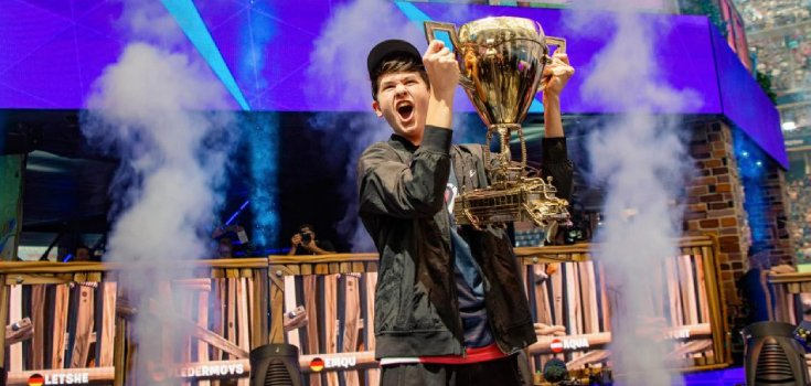 Kyle Giersdorf Fornite World Cup Champion