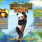 Bamboo Rush Slots Start Screen
