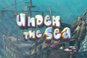 Under The Sea Slot Logo
