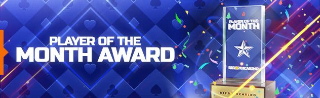 BigSpin Online Casino Player of the Month Award