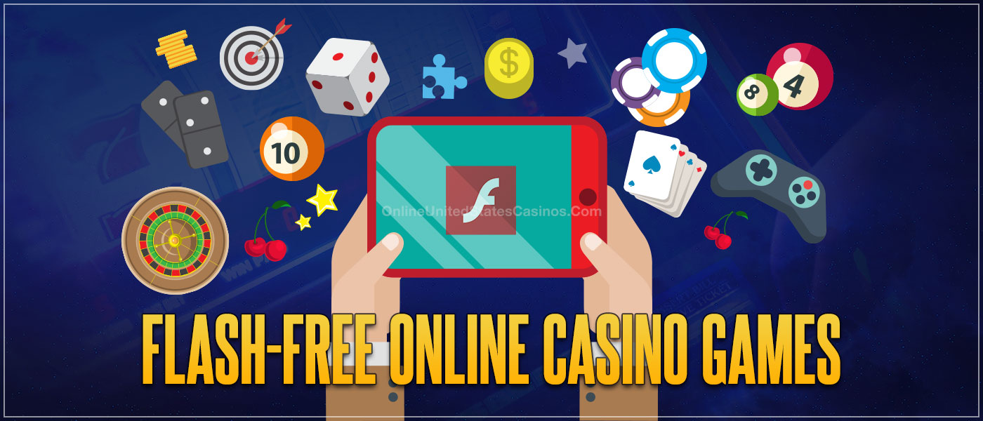 Flash-Free Online Casino Games Blog Header