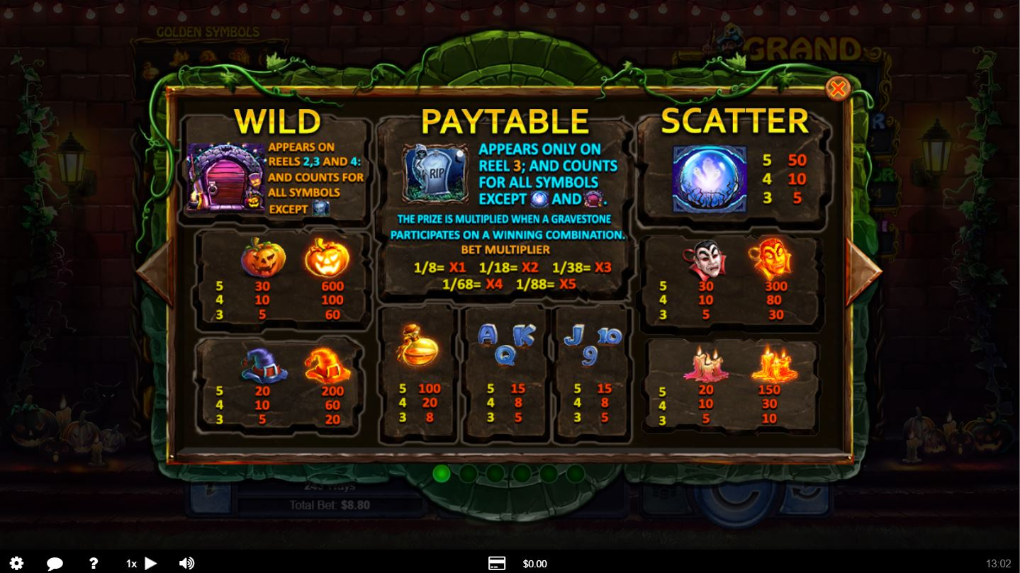 Real Ghost Slot Game For Halloween 2014