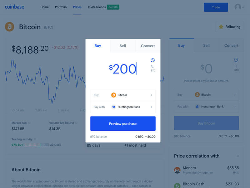 How To Get Bitcoin From Coinbase Buy
