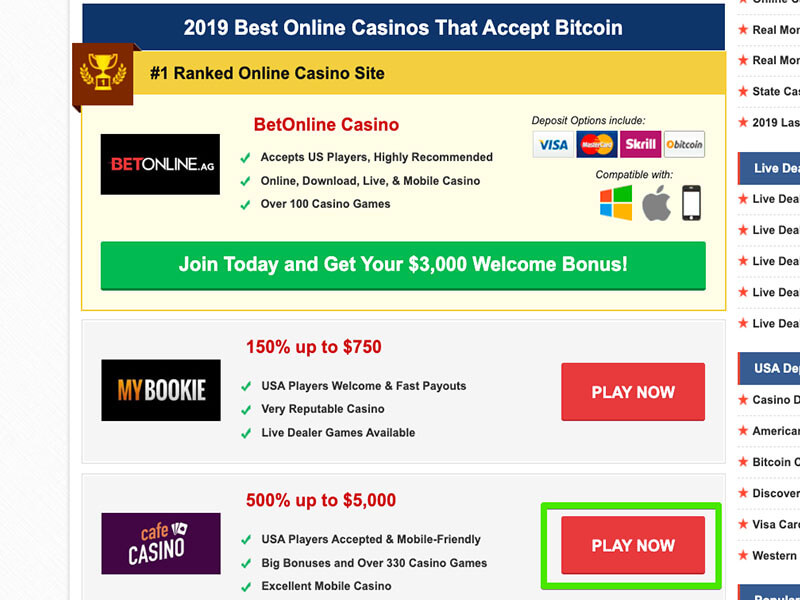 Some Of Bitcoin Casino Software